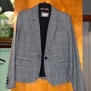 Merona Black and White Business Jacket